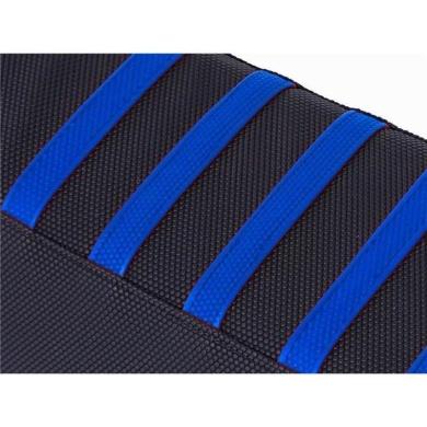 ZAP RIB-Grip Sitzbezug YZF 250 14-18 450 14-17 Schwarz/Blau