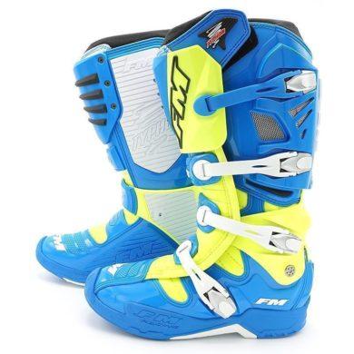 FM TYPHOON Stiefel blau/gelb Gr. 46 | ZAP-Technix-Shop.de