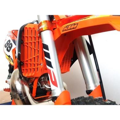 Rtech Oversize Kühlerschutzlamellen SX(F) 16-18  EXC(F) 17-19  Orange