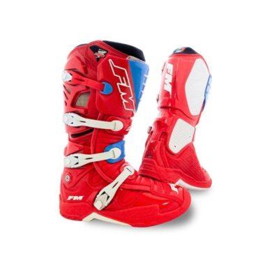 FM TYPHOON Stiefel rot/blau Gr. 43 | ZAP-Technix-Shop.de