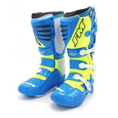 FM TYPHOON Stiefel blau/gelb Gr. 44 | ZAP-Technix-Shop.de