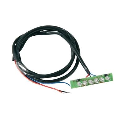 Kennzeichenhalter mit LED Rücklicht KTM EXC 2017-2019 mit Intgra system Schwarz