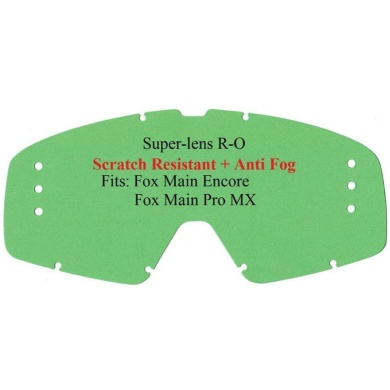 E-Glas FOX Main Pro/Encore R-OFF kratzf. klar