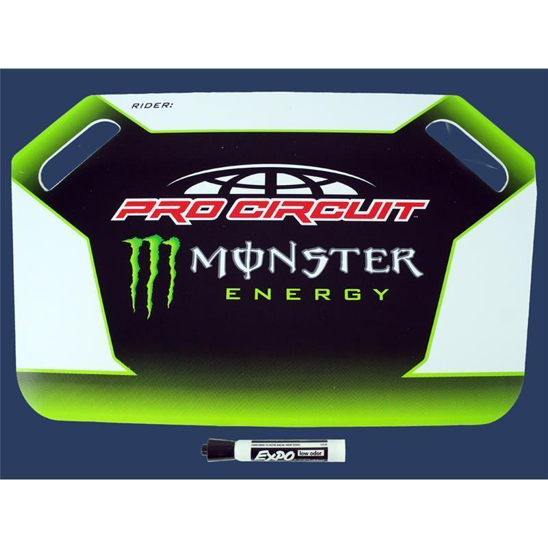 monster energy pro circuit anzeigetafel zap technix shop. Black Bedroom Furniture Sets. Home Design Ideas