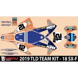 N-style TLD KTM Team KITOrange SX-F 16-18