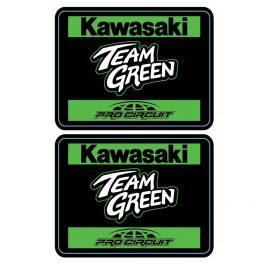 Team Green Team Sticker