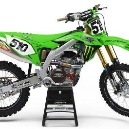 Team Green Race kit MEC Kawasaki KX 450 2019-
