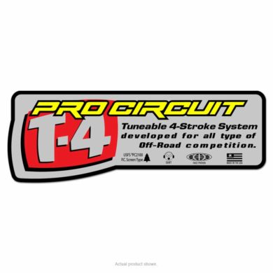 Pro Circuit Auspuffsticker T-4