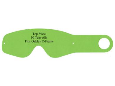 Abreißscheiben 10er Pack Oakley 2000/O-Frame