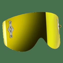 SCOTT Ersatzglas 80's Works Gelb Chrome afc