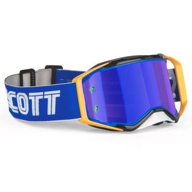 SCOTT Crossbrille Prospect Pro Circuit Sonderedition blue/yellow / blue chrome works